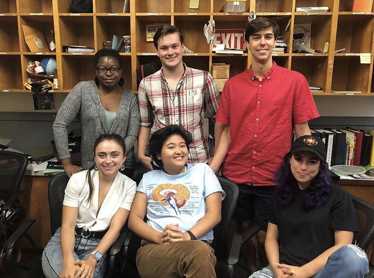 New Dramatists Fall 2019 Interns